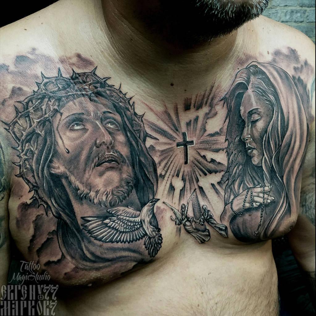 Иисус Господь голубь Святой Дух Jesus christ lord virgin mary angels dove1