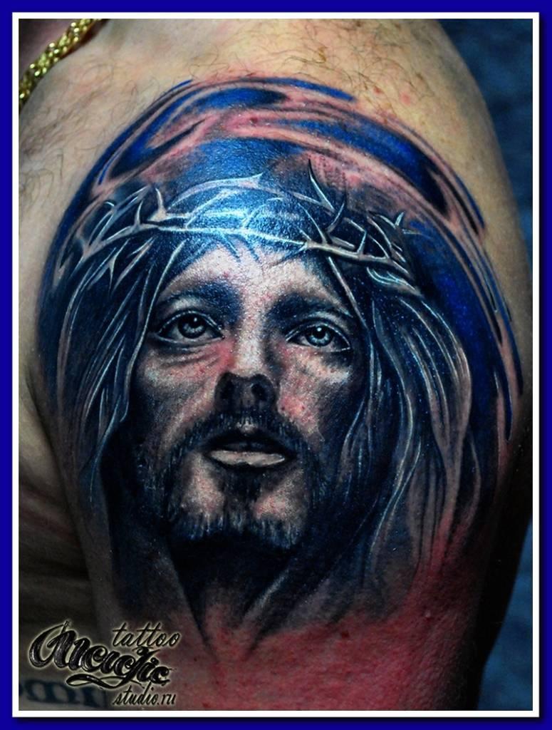 Иисус плече