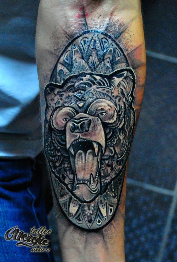 Медведь (DotWork)