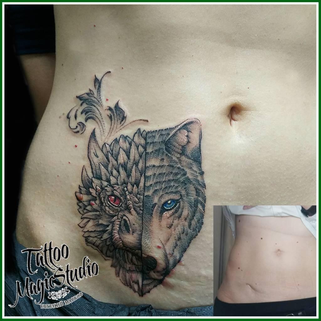графика вип шейдинг дракон волк маскировка шрама graphics vip shading dragon wolf scar masking