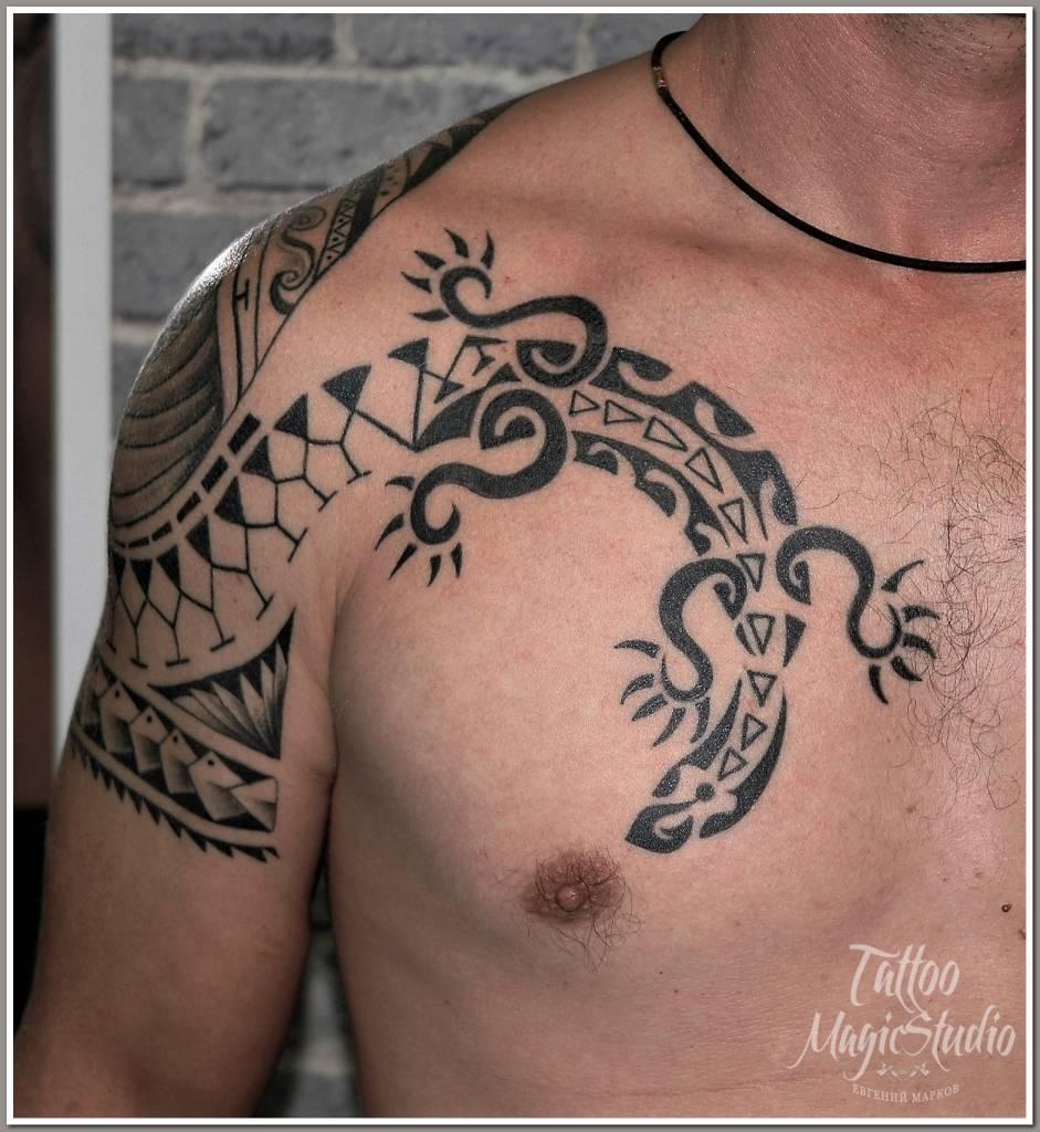 полинезия polinesia cover up перекрытие старой татуировки 3